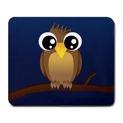 Cute Owl Large Mouse Pad (rectangle) by Contest1701789