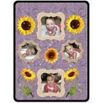 sunflower blanket - Fleece Blanket (Large)