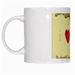 I Love My Dog! II White Coffee Mug by mysticalimages