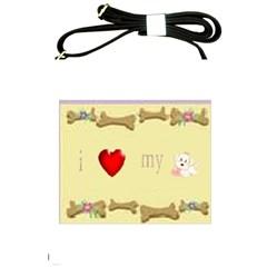 I Love My Dog! Ii Shoulder Sling Bag by mysticalimages