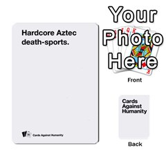 Cah White Deck 5 By Steven   Playing Cards 54 Designs   5zzuxryvpmnm   Www Artscow Com Front - Diamond5