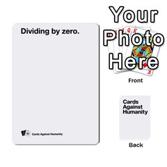 Cah White Deck 5 By Steven   Playing Cards 54 Designs   5zzuxryvpmnm   Www Artscow Com Front - Spade6