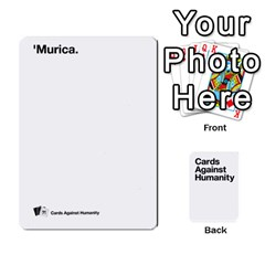Cah White Deck 5 By Steven   Playing Cards 54 Designs   5zzuxryvpmnm   Www Artscow Com Front - Club10
