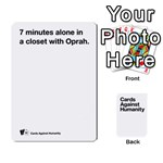 CaH White Deck 4 - Playing Cards 54 Designs