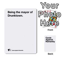 Jack Cah White Deck 4 By Steven   Playing Cards 54 Designs   Rcchr31p597k   Www Artscow Com Front - SpadeJ