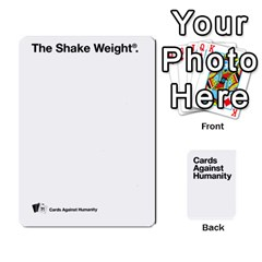 Cah White Cards 6 By Steven   Playing Cards 54 Designs   Aqs8dow35hir   Www Artscow Com Front - Heart7