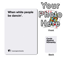 Cah White Cards 6 By Steven   Playing Cards 54 Designs   Aqs8dow35hir   Www Artscow Com Front - Spade4