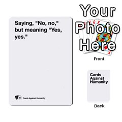 Cah White Cards 6 By Steven   Playing Cards 54 Designs   Aqs8dow35hir   Www Artscow Com Front - Club4