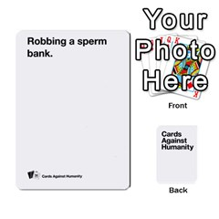 Cah White Cards 6 By Steven   Playing Cards 54 Designs   Aqs8dow35hir   Www Artscow Com Front - Club6