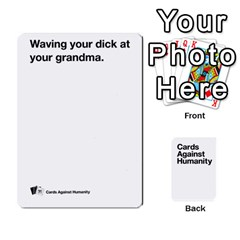 Cah White Cards 6 By Steven   Playing Cards 54 Designs   Aqs8dow35hir   Www Artscow Com Front - Spade8