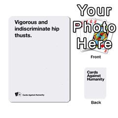 Cah White Cards 6 By Steven   Playing Cards 54 Designs   Aqs8dow35hir   Www Artscow Com Front - Spade9