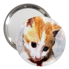 Sweet Face :) 3  Handbag Mirror by mysticalimages