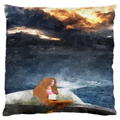 Stormy Twilight  Large Cushion Case (Two Sides)