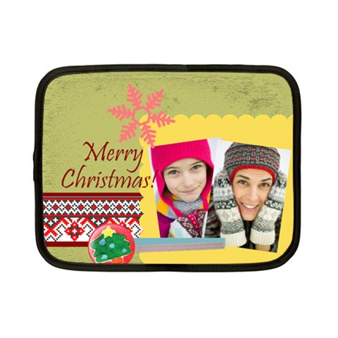 Christmas By Merry Christmas   Netbook Case (small)   Yrb5edxienpz   Www Artscow Com Front