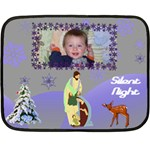 Silent Night Mini Blanket - Fleece Blanket (Mini)