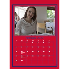 A Little Perfect Desktop Calendar By Deborah   Desktop Calendar 6  X 8 5    Fnag7i5u5k71   Www Artscow Com Feb 2017