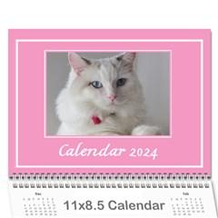 Pink Princess Wall Calendar 11x8 5 By Deborah   Wall Calendar 11  X 8 5  (12 Months)   Xpnfzgjmks8o   Www Artscow Com Cover