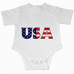Usa Infant Creeper by worldbanners