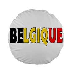 Belgium2 15  Premium Round Cushion  by worldbanners