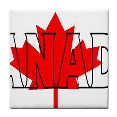 Canada Ceramic Tile by worldbanners