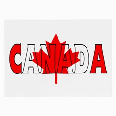 Canada Glasses Cloth (large) by worldbanners