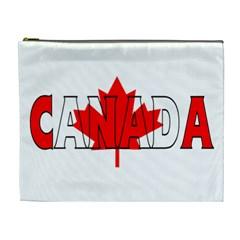 Canada Cosmetic Bag (xl) by worldbanners