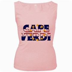 Cape Verde2 Womens  Tank Top (pink) by worldbanners