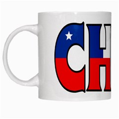 Chile White Coffee Mug by worldbanners