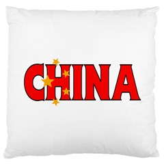 China Large Cushion Case (one Side) by worldbanners