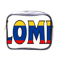 Colombia Mini Travel Toiletry Bag (one Side) by worldbanners