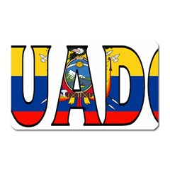 Ecuador Magnet (rectangular) by worldbanners