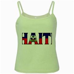Haiti2 Green Spaghetti Tank by worldbanners