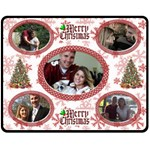 Merry Christmas medium blanket - Fleece Blanket (Medium)