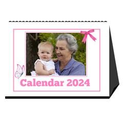Pink Princess Desktop Calendar (8 5x6) By Deborah   Desktop Calendar 8 5  X 6    Yozpz7we989j   Www Artscow Com Cover