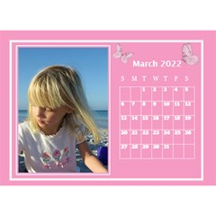 Pink Princess Desktop Calendar (8 5x6) By Deborah   Desktop Calendar 8 5  X 6    Yozpz7we989j   Www Artscow Com Mar 2017