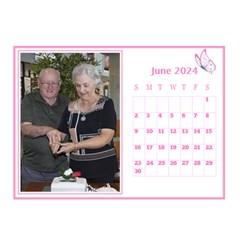 Pink Princess Desktop Calendar (8 5x6) By Deborah   Desktop Calendar 8 5  X 6    Yozpz7we989j   Www Artscow Com Jun 2017