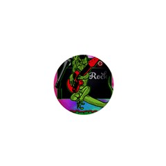 Rock Out Like An Iguana 1  Mini Button Magnet by Contest1704350