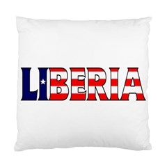 Liberia Cushion Case (one Side) by worldbanners