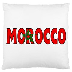 Morocco Large Cushion Case (one Side) by worldbanners