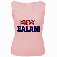 New Zealand Womens  Tank Top (Pink)