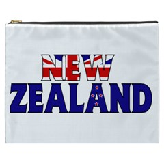 New Zealand Cosmetic Bag (xxxl) by worldbanners