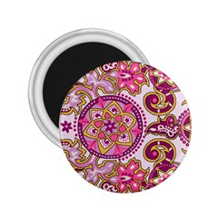 Floral Fantasy 2.25  Button Magnet by Contest1702305
