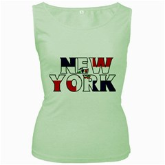 New York Dr Womens  Tank Top (green) by worldbanners