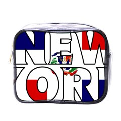 New York Dr Mini Travel Toiletry Bag (one Side) by worldbanners