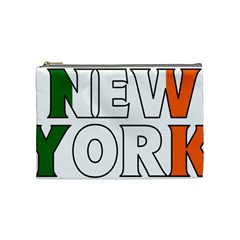 New York Ireland Cosmetic Bag (medium) by worldbanners