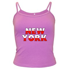 New York Poland Spaghetti Top (colored) by worldbanners