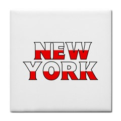 New York Poland Face Towel by worldbanners