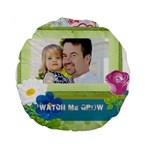 kids, father, family, fun - Standard 15  Premium Round Cushion
