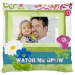 kids, father, family, fun - Large Cushion Case (Two Sides)