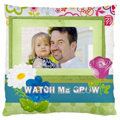 Kids, Father, Family, Fun By Jo Jo   Large Cushion Case (two Sides)   Mpjqyj84c2oi   Www Artscow Com Back